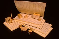 "Memories of You, By: Wendy Lill Venue: NAC Studio Year: 1990 Designer: Stephen Degenstein - Love. Also Great idea for Lanford Wilson's ""Book of Days"" Set Design Theatre, Stage Design, Contemporary Theatre, The Twits, Design Research, Stage Set, Scenic Design, Installation Art, Design Model"