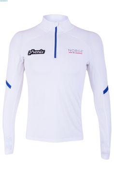 Phenix Men Norway Limited Edition Olympic First Layer Shirt - White Ski Gear, Olympia, Norway, Skiing, Athletic, How To Wear, Jackets, Shirts, Fashion