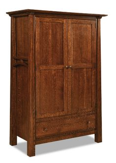 Artesa Wardrobe in Quarter-sawn Oak