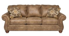 The Baltwood Espresso Queen Sofa Sleeper From Ashley Furniture Homestore With Rich