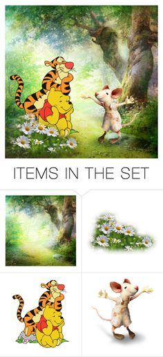 """The big story of the little mouse"" by almadiana ❤ liked on Polyvore featuring art"
