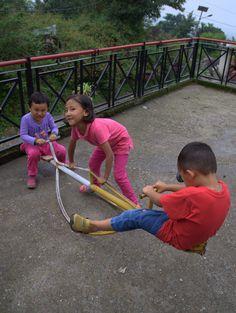Our Eternal Creche kids having a blast during monsoon.