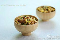 蒜苔素腊肠蛋炒饭