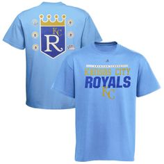Kansas City Royals Cooperstown Collection Call Bullpen T-Shirt - Blue - $19.99