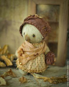 Мишки Тедди ручной работы. Ярмарка Мастеров - ручная работа Миссис Клювдия. Handmade.