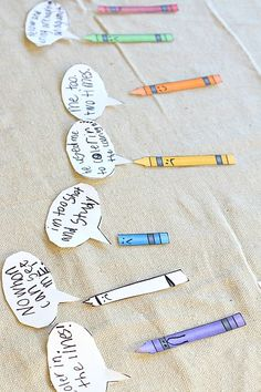 """Crayon Box Craft: inspired by """"The Day the Crayons Quit - activity for kids"""