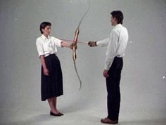 It's like being in love: giving somebody the power to hurt you and trusting (or hoping) they won't. Marina Abramović, Rest Energy