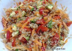 κύρια φωτογραφία συνταγής Σαλάτα κινόα πολύχρωμη Salad Recipes, Healthy Recipes, Cooking Cake, Salad Bar, Light Recipes, Fried Rice, Food Processor Recipes, Yummy Food, Tasty