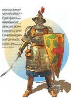 Byzantine cavalryman of the Palaiologos dynasty