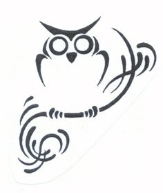 Art Tattoos Zone: Tribal Owl Tattoo Designs tattoo-ideas