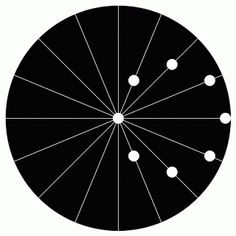 circling circles illusion