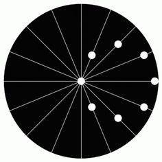 circling circles illusion