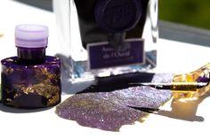 Jacques Herbin Shimmering Ink Améthyste de l´Oural Perfume Bottles, Ink, Perfume Bottle, India Ink