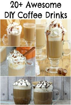20 Awesome DIY Coffee Drink Recipes - Practical Mommy