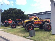 All 3 El Toro trucks Monster Truck Jam, Hummer Truck, Customised Trucks, Gas Monkey Garage, Yesterday And Today, Cool Cars, Race Cars, 4x4, Muscle