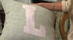 diy monogram pillow 4 MAD N MAN