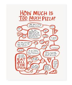 how much pizza