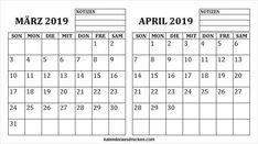 20 Best Kalender März 2019 Images