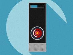 Hal 9000 icon by GeekFilter
