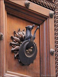 unusual door knocker