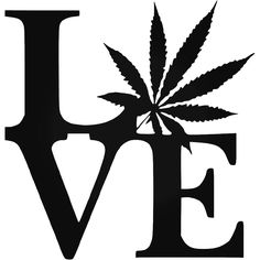 Wholesale Love With Pot Leaf Decal Or Car Weed Car Styling Accessories Car Sticker Black/Sliver Marijuana Leaves, Cannabis Oil, Cannabis Plant, Relaxing Oils, Weed Humor, Weed Funny, Weed Pictures, Weed Pics, Psychedelic Art