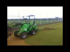 #astroturf ▶ North Wales Sports Surfacing Rejuvenation Maintenance - YouTube