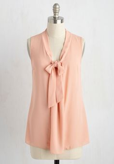 Blouses - Miami Moments Tank Top in Peach