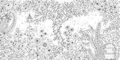 My Secret Garden colouring book, Johanna Basford