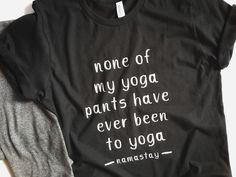 A personal favorite from my Etsy shop https://www.etsy.com/listing/607133089/yoga-shirt-fitness-shirt-fitness-apparel