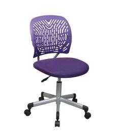 Office Star Designer Task Chair in Purple - - - Office Star Mesh Office Chair, Home Office Chairs, Purple Rain, Deep Purple, Purple Office, Purple Desk, Purple Furniture, Modern Furniture, Furniture Design