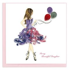 Paper Quilling Designs, Quilling Paper Craft, Quilling Patterns, Quilling Cards, Quilling Ideas, Paper Crafts, Quilling 3d, Diy Crafts, Quilling Birthday Cards