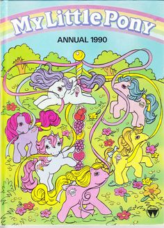 Vintage childs annual..1990s..My Little Pony by ConstantCollectors, £1.00