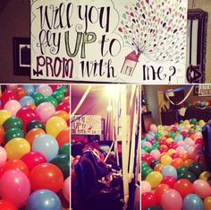 "Ideas how to ask someone to prom ""will you fly up to prom with me?"""