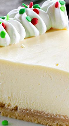 Sugar Cookie Cheesecake