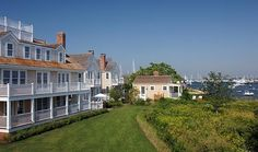 Sea Breeze at Harborview Place, Nantucket, Massachusetts.  3 BR residence located in a private exclusive waterfront enclave just two blocks form Main Street and Straight Whart.
