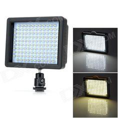 W126 luz de vídeo LED para DSLR Camera - Negro SKU: 219337 (Añadido el 10/06/2013) Precio: US$  30,80 Envío: Envío Gratis A SPAIN Entrega: Normalmente se entrega de 7 a 10 días laborables