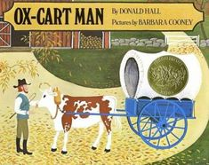 """The 1980 Caldecott Medal winner was Barbara Cooney for """"Ox-Cart Man,"""" written by Donald Hall."""