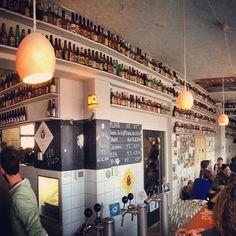 Brouwerij 't IJ in Amsterdam, Noord-Holland: micro brewery at De Gooyer Windmill