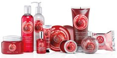 the body shop frosted cranberry holiday 2014
