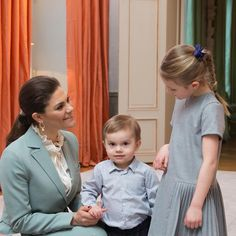 31 January 2018 - Duke and a Duchess of Cambridge's Royal tour to Sweden (day Stockholm, private meeting at Haga Palace - suit by Rodebjer Princess Victoria Of Sweden, Princess Estelle, Crown Princess Victoria, Prince And Princess, Duke And Duchess, Duchess Of Cambridge, Royal Families Of Europe, Photographs And Memories, Swedish Royalty