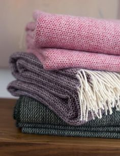 Harlow Henry Chalet Throw Cherry Blossom