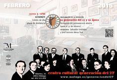 Publicidad Generación del 27. Alfarnate (Málaga).