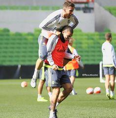 Sergio and Pepe - Real Madrid #footballislife