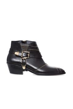 Anine Bing Gold Studded Boots ($699)
