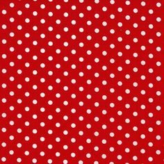 Red Dumb Dots From Michael Miller  1 Yard by StitchStashDiva, $8.95