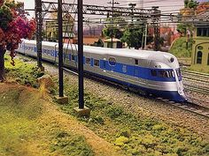 "New York, New Haven and Hartford R.R.'s ""The Comet"" was a diesel-electric streamliner built in 1935 by the Goodyear-Zeppelin Company. Only 1 trainset built. Between Boston & Rhode Island."