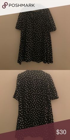Anthropologie patterned button down shirt Very cute and great for layering! Worn a few times. Anthropologie Tops Blouses