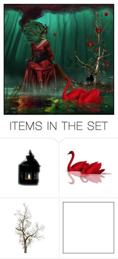 """Power of Red..........."" by stormwarrior ❤ liked on Polyvore featuring art"