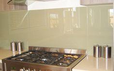 Glass splash back