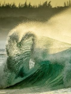 From national geographic ♥ wave.  Can you see the heart?